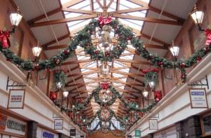 Christmas Decorations at the Victoria Centre, Llandudno