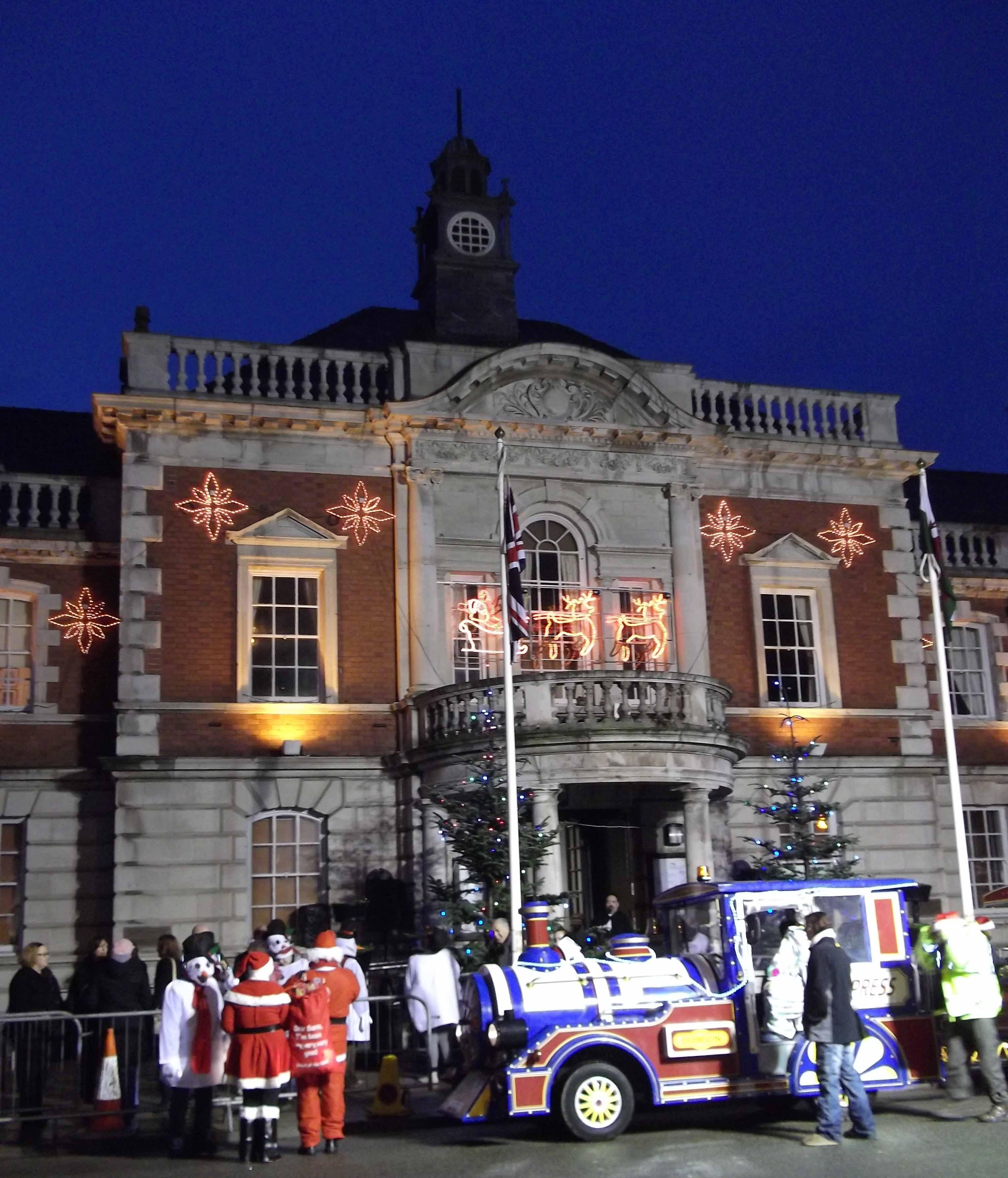 The Christmas Parade   Llandudno Pictures