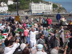 Olympic Torch Relay Llandudno 2012
