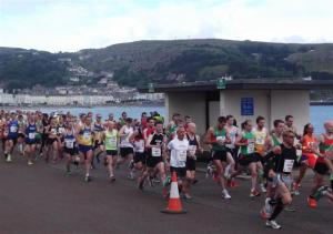 Run Wales Llandudno 10 Mile Road Race June 2012