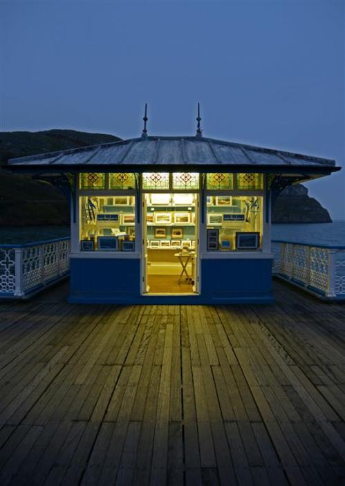 North Shore Shop on Llandudno Pier North Wales