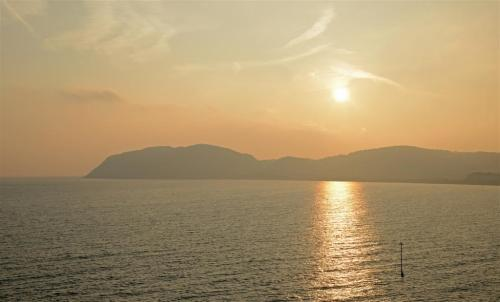 Sunrise in Autumn Little Orme Llandudno North Wales