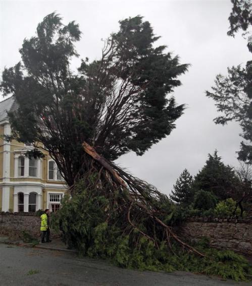Storm Damage Llandudno