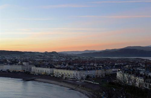 Llandudno Promenade at Sunrise