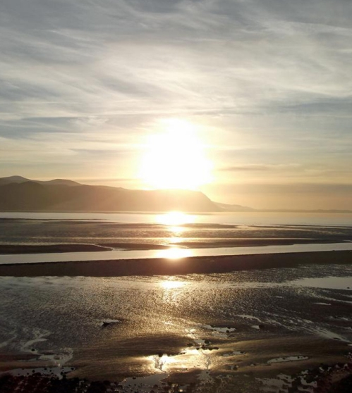 The West Shore Llandudno in December