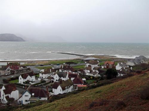 View of the West Shore Llandudno North Wales