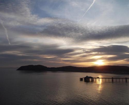 Sunrise Llandudno Pier