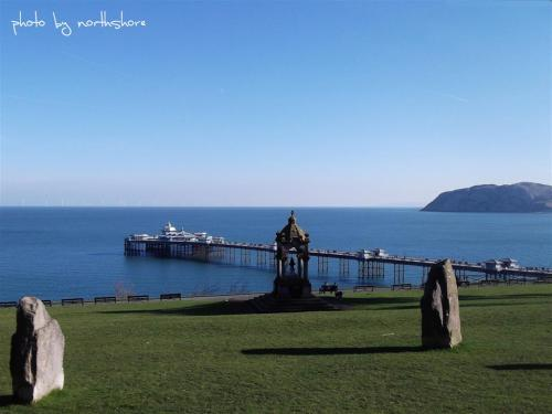 Llandudno Pier from Happy Valley