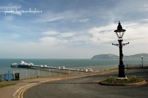 Llandudno Pier from the Happy Valley