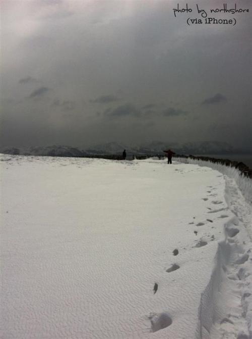 Snow on the Great Orme Llandudno
