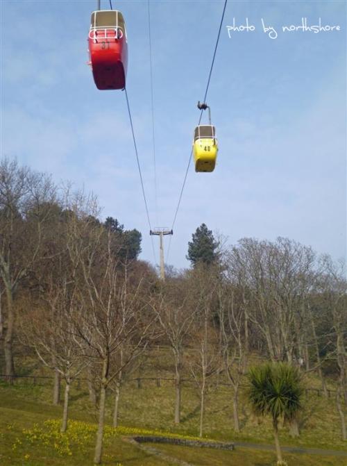 Cable cars Llandudno