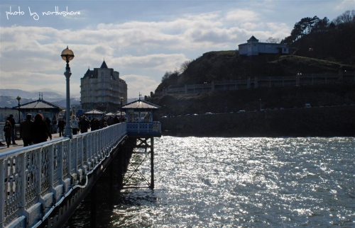 Llandudno Pier and Grand Hotel