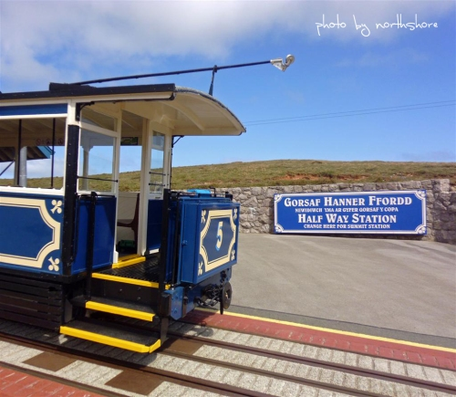 Picture of a Great Orme tram Llandudno
