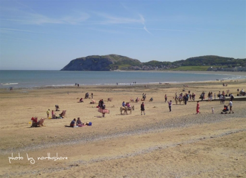 Picture of Llandudno beach