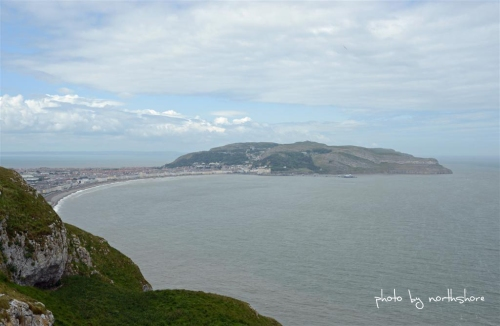 Picture of Llandudno from the Little Orme