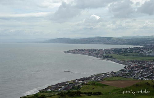 Picture of the view from the Little Orme Llandudno
