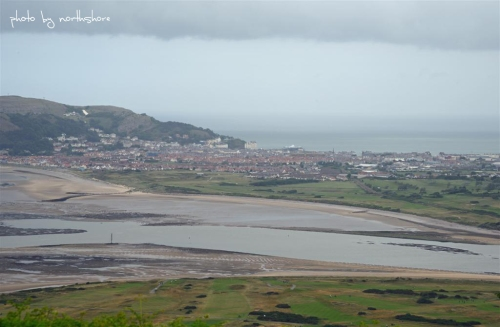 Picture of Llandudno from Conwy Mountain