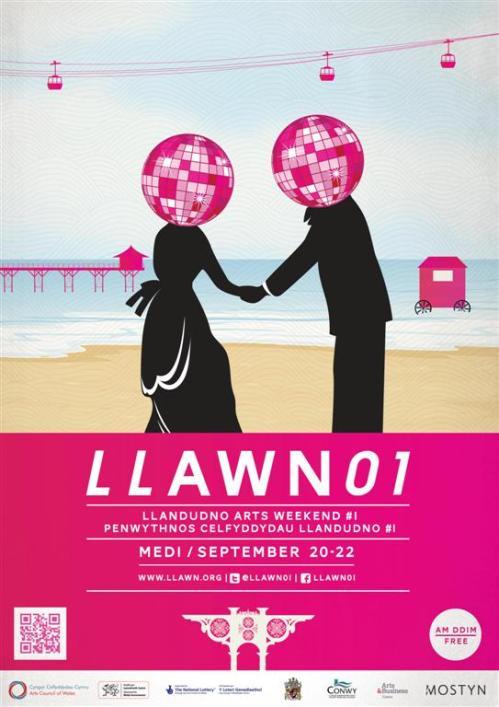 Llandudno arts festival 2013 poster (Large)