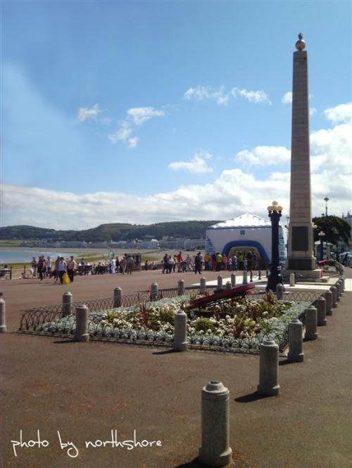 Welsh Water Roadshow on Llandudno Promenade