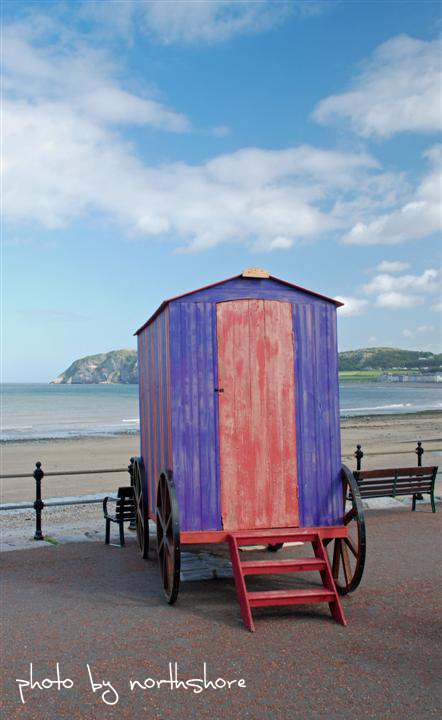 Picture of bathing machine Llandudno