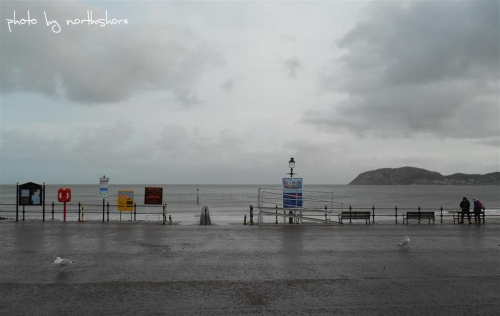 Llandudno Promenade North Wales
