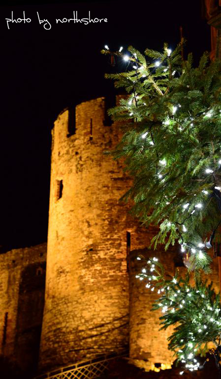 Conwy Castle at Christmas