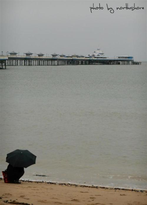 Llandudno Pier and beach