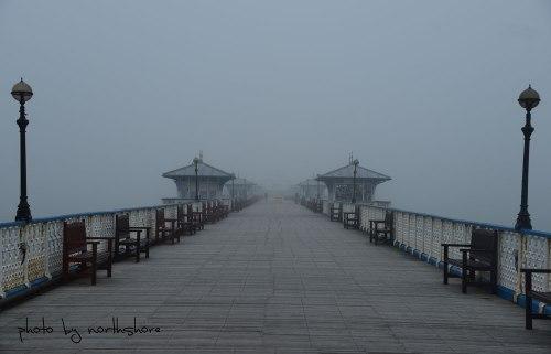 Foggy Llandudno Pier
