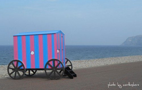 Bathing-Machine-Llandudno-Promenade