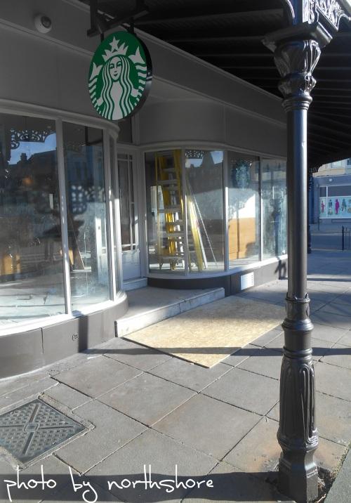 Starbucks-Llandudno