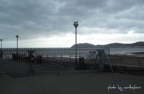 Llandudno-Pier-Closed