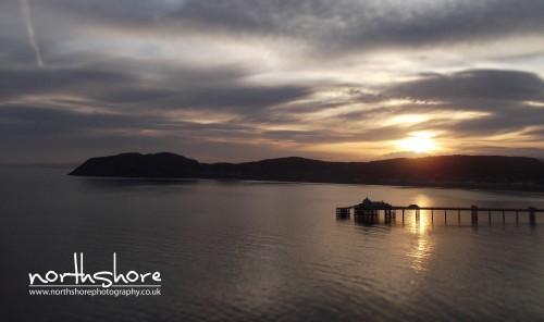 Sunrise Llandudno Pier picture